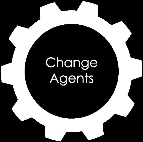 Change agents icon